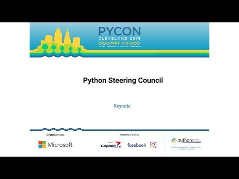 Python Steering Council - Keynote - PyCon 2019 - YouTube