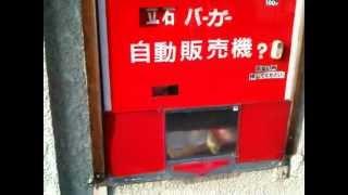 hamburger vending machine in tokyo