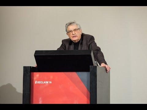 Abschlussplädoyer von Gerhart Baum bei re:claim autonomy!