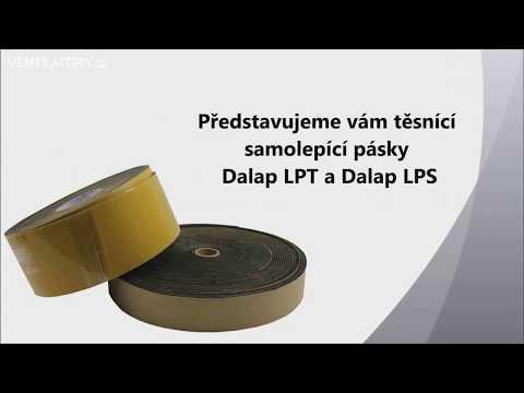 Samolepící izolační pásky pro vzduchotechniku Dalap LPT a Dalap LPS