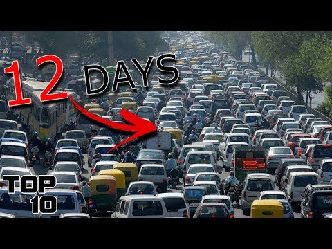 Top 10 Longest Traffic Jams In History