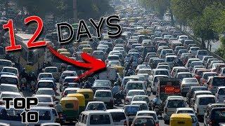 Top 10 Longest Traffic Jams In History