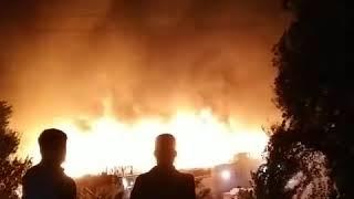 Пожар в Супаре