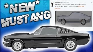 Saving up for the Shelby Mustang in Roblox Jailbreak