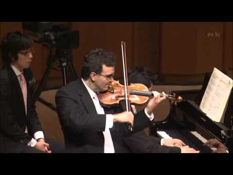 Gil Shaham plays W. A. Mozart: Sonata for Piano and Violin in D, K.306