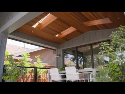 using skylights on covered porches