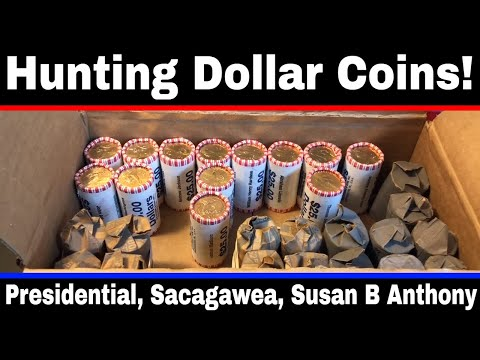 Hunting $1 Dollar Coins #2 -