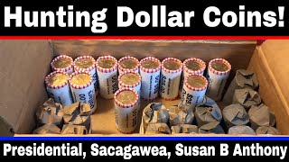 "Hunting $1 Dollar Coins #2 - ""Gold Dollars"" and Susan B Anthony Dollars"