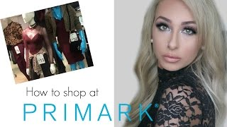 HOW TO SHOP IN PENNEYS/PRIMARK | DramaticMAC