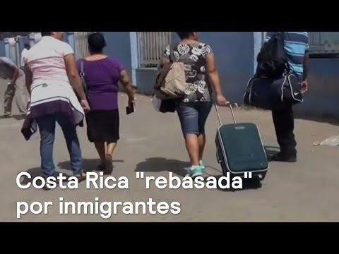 Inmigrantes nicaragüenses se desbordan en Costa Rica - Foro Global
