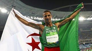 نهائي 800 متر رجال : توفيق مخلوفي يهدي الجزائر فضية ال 800 م باولمبياد ريو 2016