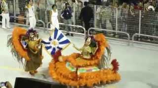 Бразильский карнавал. Самбадром в Сан-Пауло.(Бразильский карнавал - ежегодный фестиваль в Бразилии, который проводится за сорок дней до Пасхи и отмечает..., 2014-06-16T00:43:52.000Z)