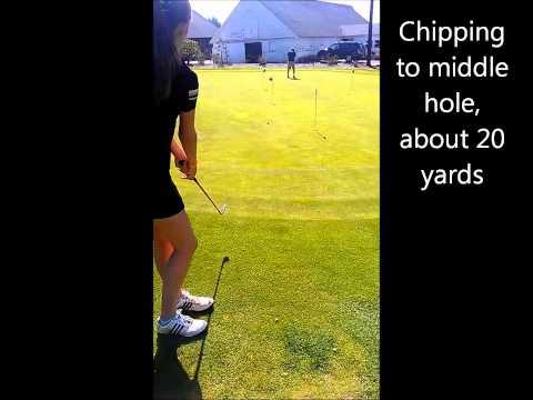 Danielle Weir 2012 girls golf recruit