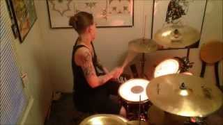 "Drum cover by Angel - ""I am Machine"" - by Three Days Grace"