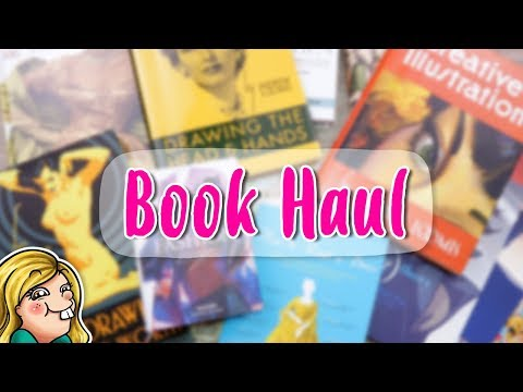 BOOK HAUL - Art Reference, Art Instruction, Comics, etc.
