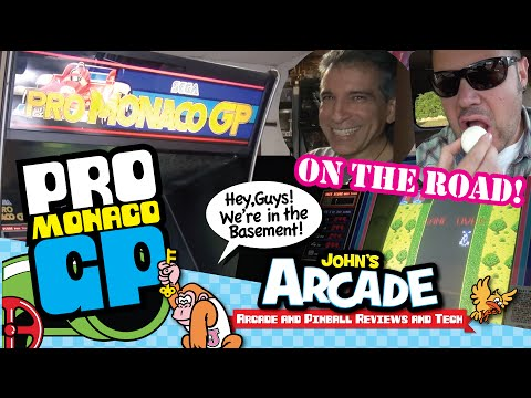SEGA PRO MONACO GP ARCADE GET and Review! 1980 and super cool!