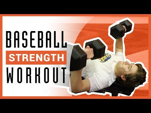 Baseball Strength Training Workout (UPPER BODY)
