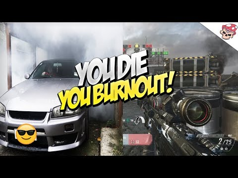 BO2 FFA WITH BURNOUTS! ft. Nissan Skyline R34!