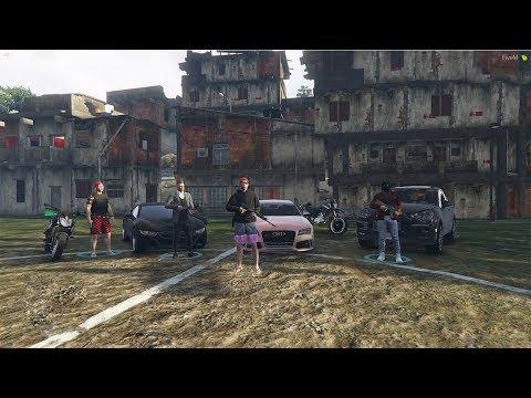 GTA 5 ROLEPLAY - VIDA DO CRIME, O BONDE TA PESADO thumbnail