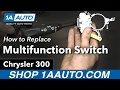 How to Replace Multifunction Switch 05-10 Chrysler 300