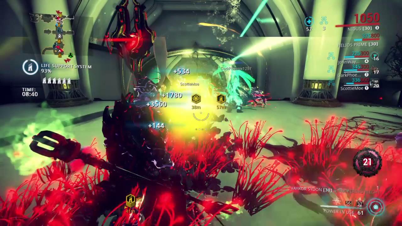 Warframe   Epic Orokin Derelict Survival (Octavia ...
