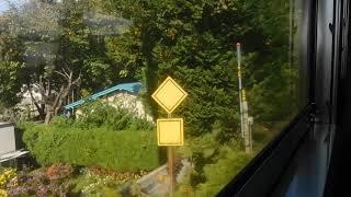 奥羽本線649D普通列車青森行き(弘前→撫牛子)車窓 キハ48(首都圏色)