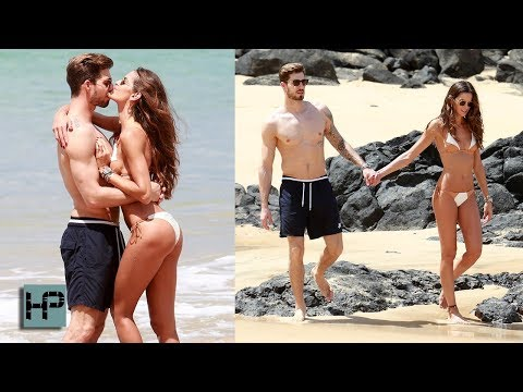 Kevin Trapp & Izabel Goulart's Beach PDA amid PSG Transfer Rumours
