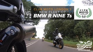 3 new BMW R nineTs! - Club Moto fleet update