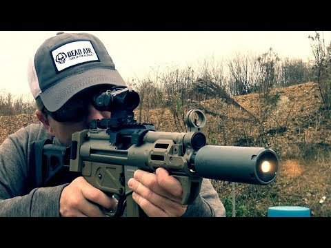 Dead Air Wolf 9SD: Two 9mm Suppressors In One