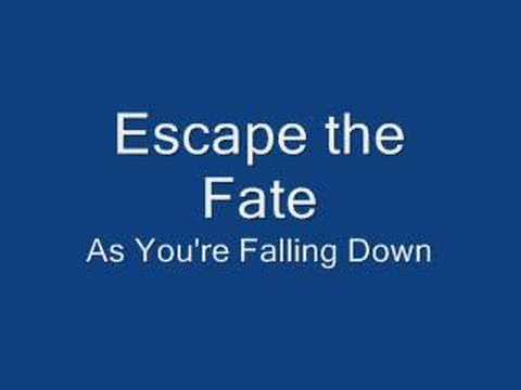 Escape The Fate - As You're Falling Down (w/lyrics) - YouTube