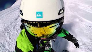 Backcountry Snowboarding - Massif du Grand Sablat 2014 - France