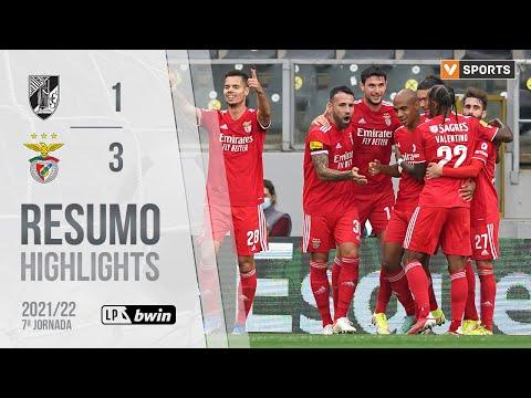 Guimaraes Benfica Goals And Highlights