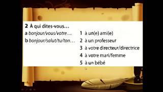 Tiếng pháp cơ bản Online bài 3-1 Le nouveau taxi 1 bài 3-2 Le nouveau taxi 1