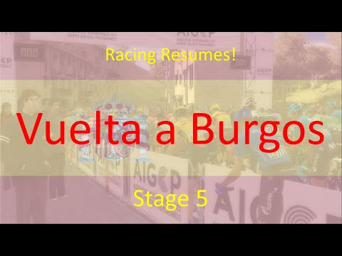 Vuelta a Burgos 2020 | Stage 5 | Pro Cycling Manager 2020 |