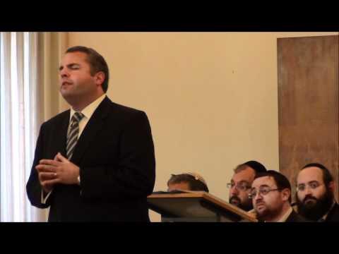 Cantor Gideon Zelermyer Sings Ocheinu-Gentshof