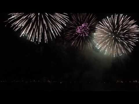 29 July 2017 - fireworks in Cannes - England - sped 6 times