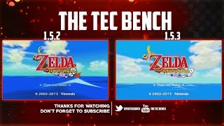 Zelda Wind Waker HD | Cemu 1.5.2 vs 1.5.3 | i7-4790k
