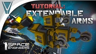 How to make an Extendable Arm [Space Engineers]
