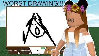 ROBLOX: MEINE WORST DRAWING EVER!!!! /Zeichnen Sie es!