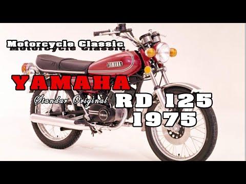 YAMAHA RD 125 TAHUN 1975 INDONESIA