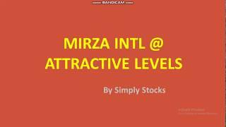 Mirza international trading at very ...