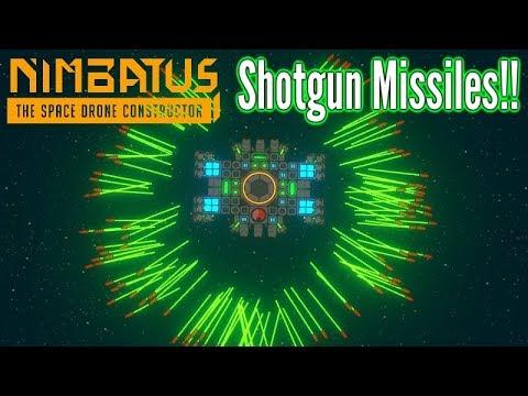 Nimbatus | Shotgun Missiles & Stabilised Weapon Spinners!