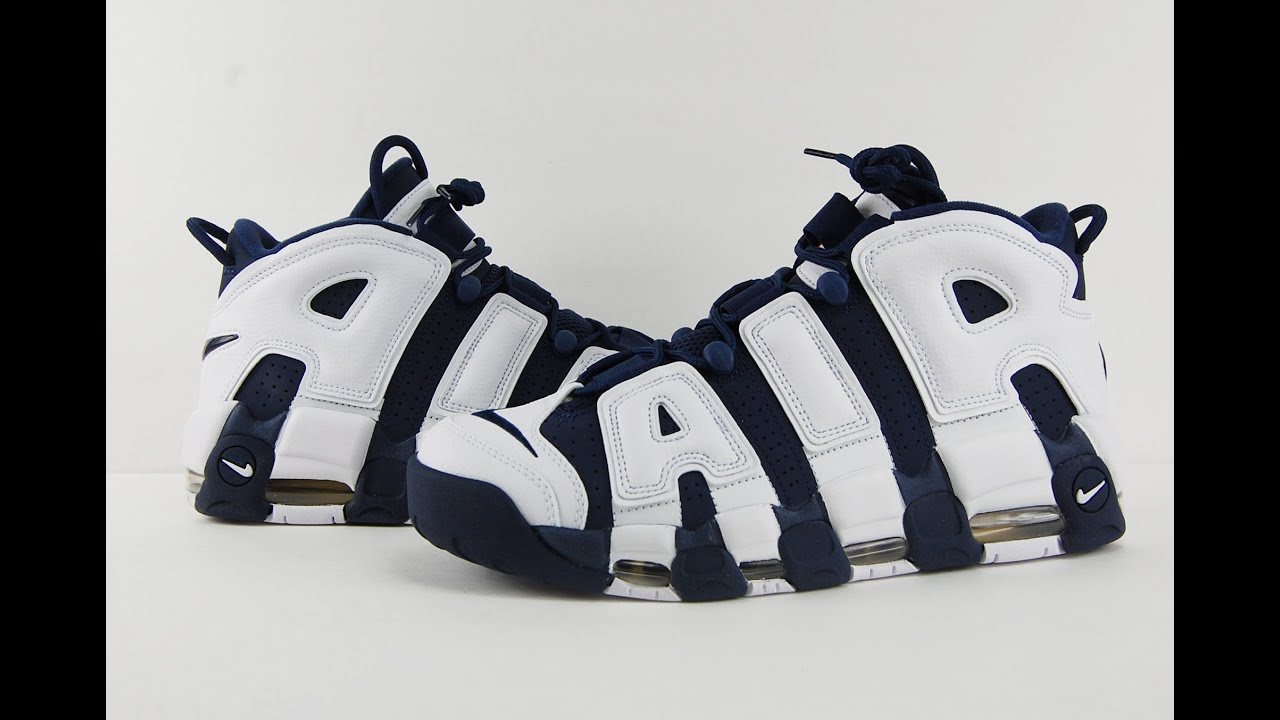 Nike Air More Uptempo Olympic 2016 Review - YouTube ec3273277957e