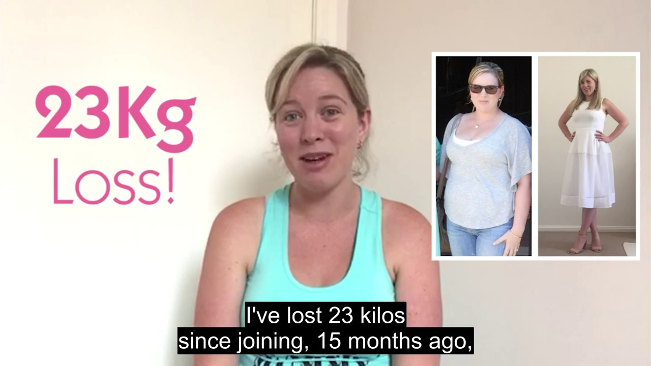 Download Robyn's 23kg Weight Loss Story