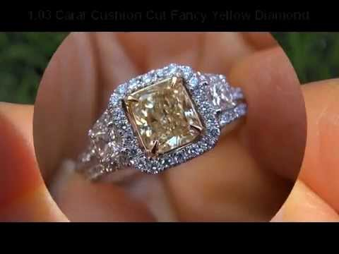 Jaw Dropping Egl Certified 2 51 Carat Quot Fancy Quot Yellow