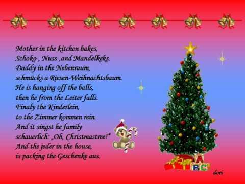 Weihnachtsgedicht Deutsch