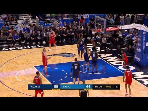 3rd Quarter, One Box Video: Orlando Magic vs. Washington Wizards