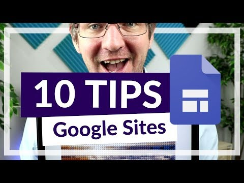 Top 10 Tips for Google Sites for Beginner and Power User