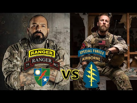 """Rangers versus Green Beret's 