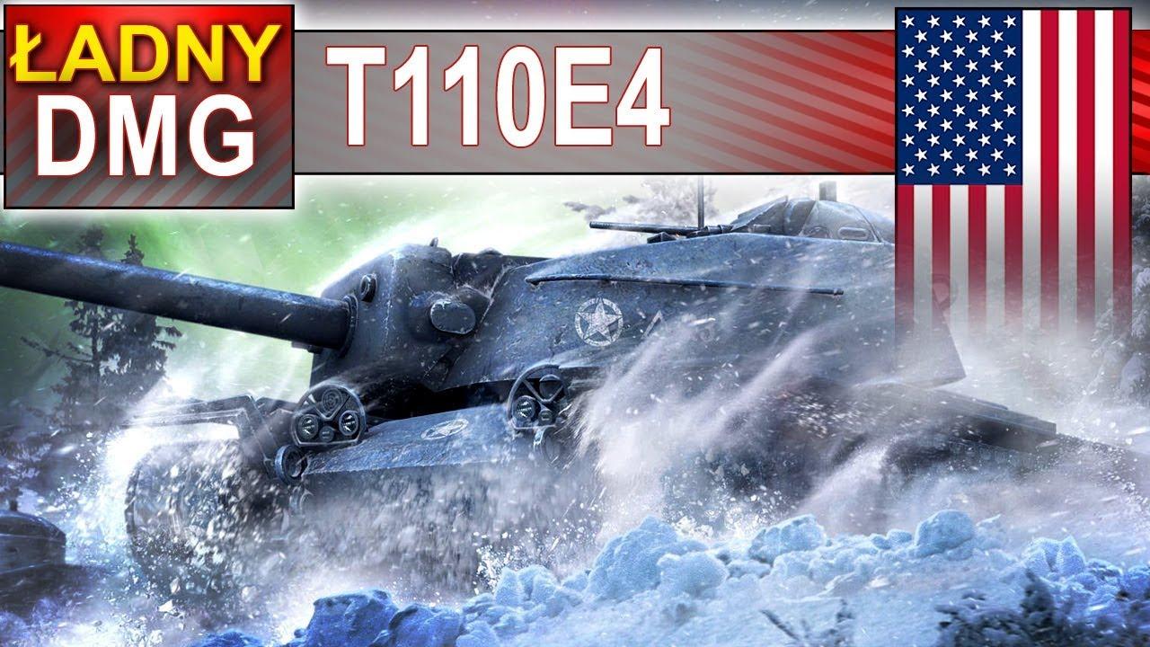T110E4 – jeszcze daje radę :) – BITWA – World of Tanks